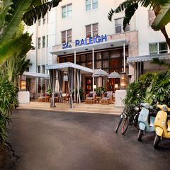 Photo taken at The Raleigh Miami Beach by The Raleigh Miami Beach on 11/10/2014