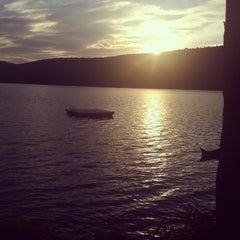 Photo taken at Lake Owassa by Teri W. on 6/23/2013