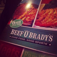 Photo taken at Beef O' Bradys by Kyle C. on 9/20/2012