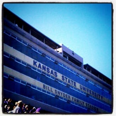 Photo taken at Bill Snyder Family Stadium by Diana L. on 12/1/2012