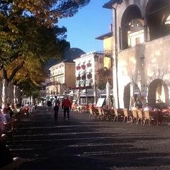 Photo taken at Bar Gelateria Pizzeria La Losa by Vlad S. on 10/22/2012