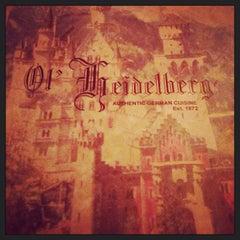 Photo taken at Ol' Heidelberg Cafe by Hope D. on 9/25/2013