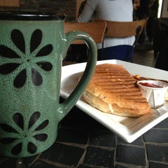Photo taken at Green Bean Café by Joanna W. on 2/13/2013