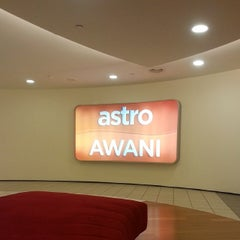 Photo taken at Astro Awani by Hadihaizil D. on 2/23/2014