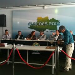 Photo taken at Tribunal Regional Eleitoral do Amazonas by Adriano Castro O. on 10/27/2012