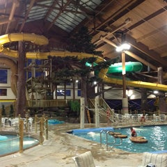 Photo taken at Timber Ridge Lodge & Waterpark by Andrew L. on 12/19/2012