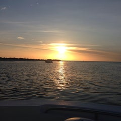 Photo taken at Shell Key Preserve by Laura H. on 4/4/2014