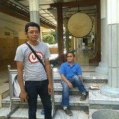 "Photo taken at Masjid Agung ""DARUSSALAM"" Bojonegoro by Dhay H. on 3/17/2013"