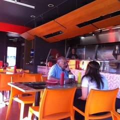 Photo taken at Billy's Gourmet Hot Dogs by Hannah B. on 10/8/2012