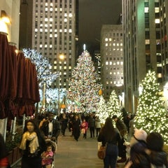 Photo taken at Rockefeller Center Christmas Tree by R. C. on 12/19/2012