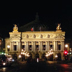 Photo taken at Opéra Garnier by Storm M. on 10/21/2013