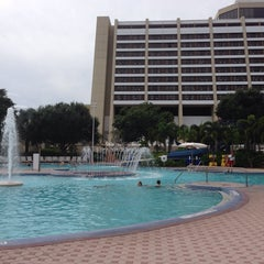 Photo taken at Contemporary Resort Pool by Melissa W. on 10/6/2014