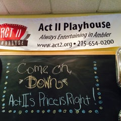 Photo taken at Act II Playhouse by Helen D. on 3/29/2014