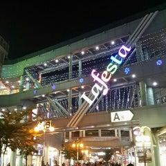 Photo taken at Lafesta by Amuchi あ. on 10/16/2015