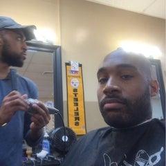 Photo taken at Kool Kuts Barbershop by Marcus T. on 6/27/2015