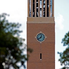 Photo taken at Albritton Bell Tower by Texas A&M University on 4/22/2013