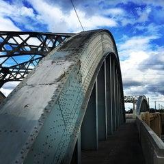 Photo taken at Sixth Street Bridge by Brian A. on 3/13/2015