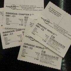 Photo taken at Greenbelt 1 Cinemas by Chino James C. on 6/15/2015