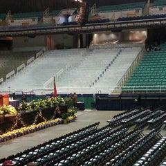 Photo taken at Greensboro Coliseum Complex by Shakiri J. on 12/8/2012