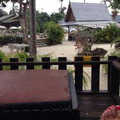 Photo taken at Haadlad Prestige Resort And Spa Koh Phangan by Ksuksa K. on 12/29/2013