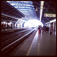 Photo taken at Metro San Joaquín by Jaime M. on 3/25/2013