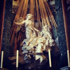 Photo taken at Chiesa di Santa Maria della Vittoria by Rachel S. on 7/5/2013