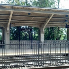Photo taken at NJT - Madison Station (M&E) by Susan on 9/15/2013