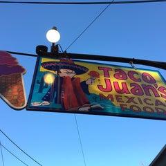 Photo taken at Taco Juan's by David G. on 10/12/2014