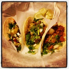 Photo taken at Pinche Taqueria by Marco V. on 1/30/2013