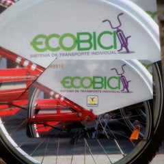 Photo taken at Ecobici 85 by Maurizio P. on 9/2/2013