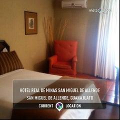 Foto tomada en Hotel Real de Minas por Maurizio P. el 7/28/2013