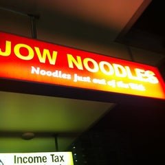 Photo taken at Jow Noodles by Rethxehd R. on 11/2/2012