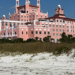 Photo taken at Loews Don CeSar Hotel by Jessy on 2/10/2013