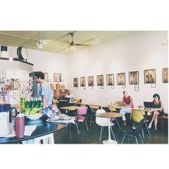 Photo taken at Espressoria by Mallory R. on 7/21/2014