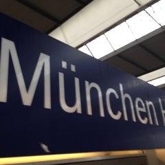 Photo taken at München Hauptbahnhof by Torsten O. on 5/3/2013
