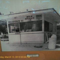 Photo taken at Whataburger by Joseph 'Jo Jo Brown' I. on 3/13/2013
