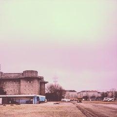 Photo taken at Heiligengeistfeld by Sebastian T. on 12/20/2012
