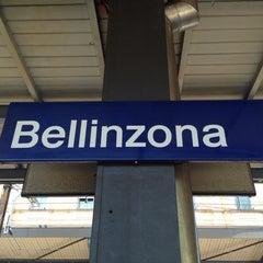 Photo taken at Stazione di Bellinzona by Christian H. on 6/9/2014