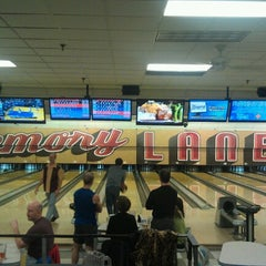 Photo taken at Memory Lanes and the Flashback Cafe by Drew G. on 1/11/2013