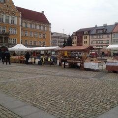 Photo taken at Náměstí ČSA by Helen on 4/5/2014