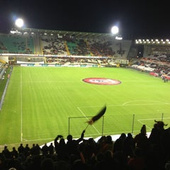 Photo taken at Club Brugge K.V. by Alessandro O. on 2/6/2013