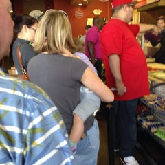 Photo taken at Jersey Mike's Subs by Rex on 2/15/2014