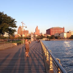 Photo taken at Pier 45 - Hudson River Park by Denis P. on 10/2/2013
