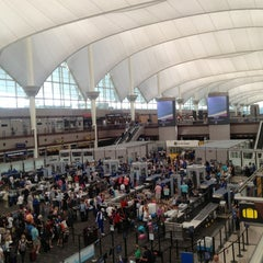 Photo taken at Denver International Airport (DEN) by Tim J. on 6/8/2013