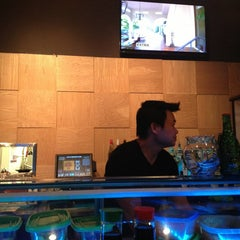 Photo taken at Way Sushi & Teppanyaki by Karin P. on 6/23/2013