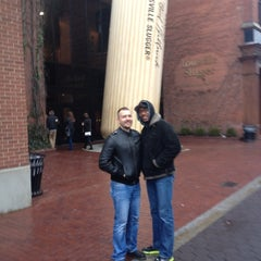 Photo taken at Louisville Slugger Museum & Factory by David M. on 12/29/2012