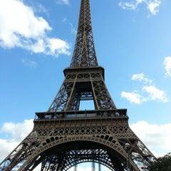 Photo taken at Tour Eiffel by Pau O. on 10/29/2013