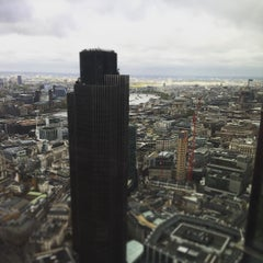 Photo taken at Heron Tower by Jerry D. on 5/5/2015