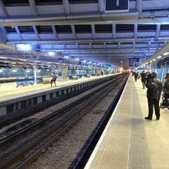 Photo taken at London Blackfriars Railway Station (BFR) by Volker B. on 2/18/2013