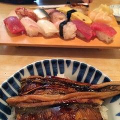 Photo taken at 金寿司 by Hana N. on 1/23/2014